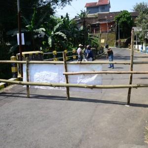 23 Warganya Positif Covid-19, Kawasan Jl. Binor Kelurahan Bunulrejo Ditutup Total