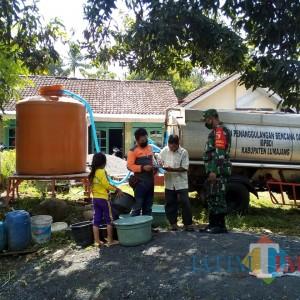 BPBD Lumajang Mulai Suplay Air Bersih Untuk 6 Kecamatan Krisis Air