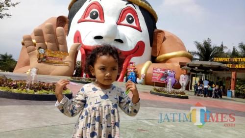 Salah satu objek wisata di Jatim Park Group/ foto Muklas.