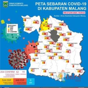 Tambah 8, Jumlah Pasien Covid-19 di Kabupaten Malang jadi 204 Kasus