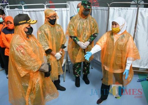 Kabar Baik Covid-19: Pasien Sembuh di RS Lapangan Capai 72,9 Persen