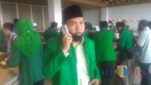 Samsul Arifin, Sekretaris DPC PPP Kabupaten Banyuwangi, (Nurhadi Banyuwangi Jatim Times)
