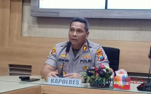 Kapolres Blitar Kota, AKBP Leonard M. Sinambela