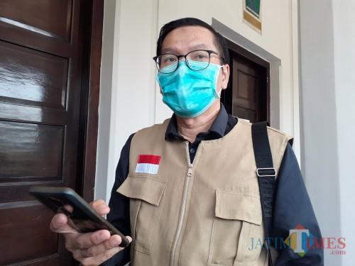 Juru Bicara Gugus Satgas Covid-19 yang juga Kabid Pencegahan dan Pengendalian Penyakit (P2P) Dinkes Kota Malang dr Husnul Muarif (Arifina Cahyanti Firdausi/MalangTIMES).