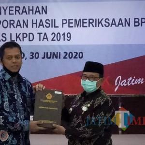 Mantap, Kabupaten Blitar Raih Opini WTP ke-4 Kalinya dari BPK RI