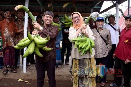 Bupati Lumajang H. Thoriqul Haq dan Wabup Ir. Indah Amperawati (Foto : Moch. R. Abdul Fatah / Jatim TIMES)