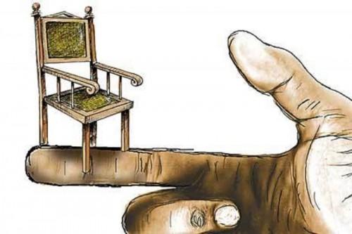 Ilustrasi kursi kekuasaan. (Foto: law-justice.co)