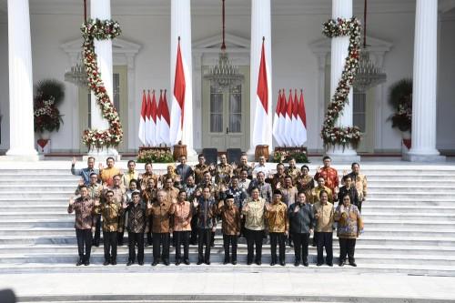 Kabinet Indonesia Maju  (Foto: Katadata)