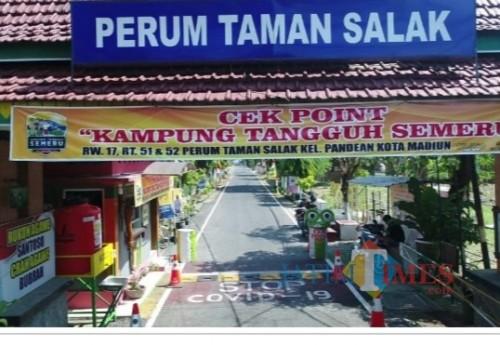 Kampung Tangguh Semeru di Kelurahan Pandean, Kota Madiun.