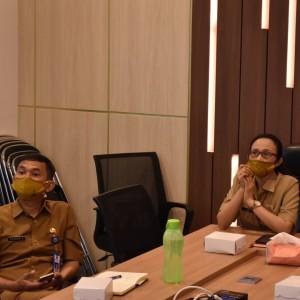 Konferensi Video dengan Bappenas, Bappeda Kota Malang Konsentrasi Pulihkan Ekonomi