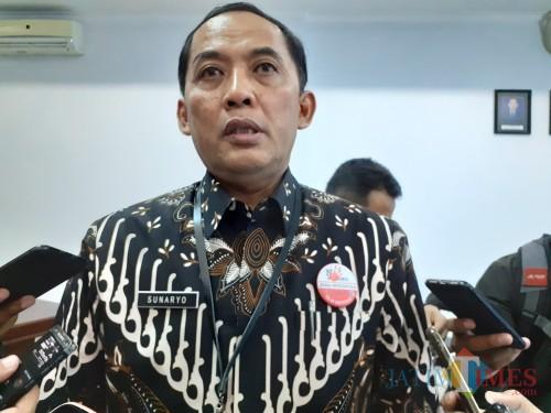 Kepala BPS Kota Malang Sunaryo. (Arifina Cahyanti Firdausi/MalangTIMES).