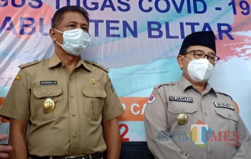 Marhaenis dan Rijanto digadang-gadang bakal kembali menangi Pilkada Kabupaten Blitar 2020.
