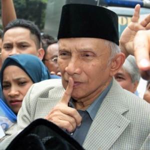 Soroti Insiden Jokowi Marah, Amien Rais Beri Peringatan: Jangan Bernasib seperti Pak Harto