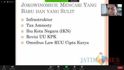 Ekonom: Siapa pun Rezimnya, Pasti Butuh Omnibus Law