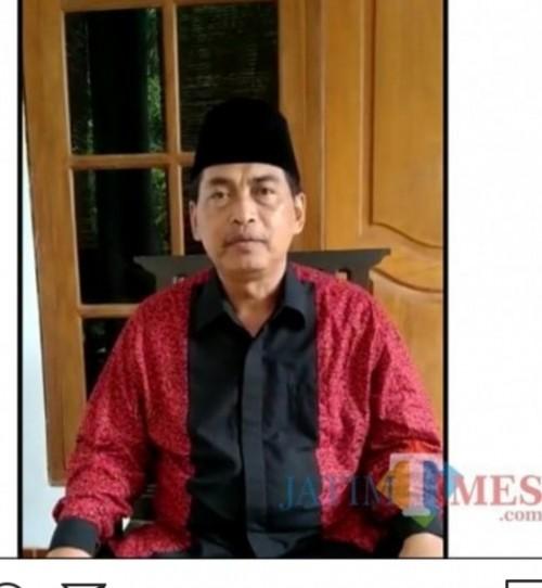 KH khafid Izzuddin Ketua Syuriah PCNU Kota Madiun