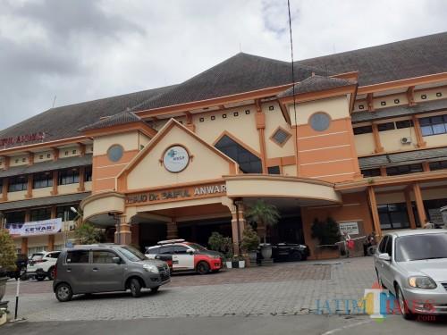 Rumah Sakit Saiful Anwar (RSSA) Malang yang menjadi salah satu rujukan pasien Covid-19 di Kota Malang. (Arifina Cahyanti Firdausi/MalangTIMES).