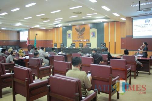 Rapat paripurna hasil reses digelar DPRD Kab Blitar
