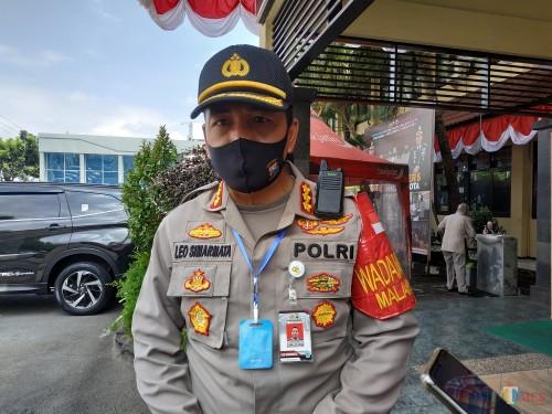 Kapolresta Malang Kota Kombes Pol Leonardus Simarmata (Hendra Saputra)