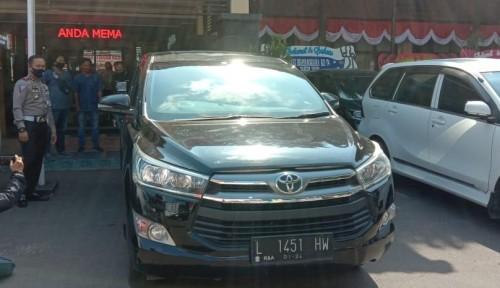 Barang bukti mobil hasil pengelapan yang diamankan Satlantas Polresta Malang Kota (Ist)