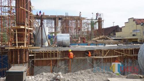 Ditarget Selesai Desember, Pembangunan Rumah Pompa Petekan Terus Dikebut