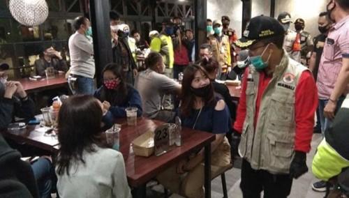 Sidak Tempat Keramaian, Rata-Rata Warga di Kota Batu Sudah Pakai Masker