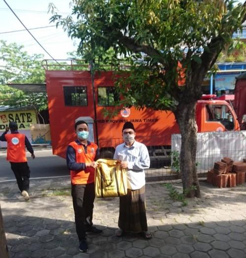 PC RMI Nahdlatul Ulama Kota Madiun Sambut Gembira Bantuan Paket Sembako dan Alat Kesehatan