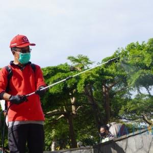 Berani Tak Gunakan Masker di Kota Batu? Siap-Siap Nyapu