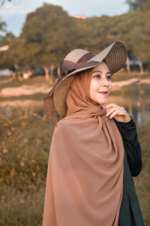 Sepi, Begini Cara Pengusaha Hijab di Malang Bertahan di Tengah Pandemi Covid-19