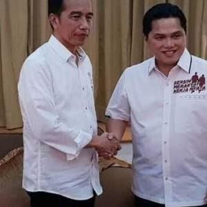 Jokowi Didesak segera Copot Jabatan Erick Thohir, Ada Apa?