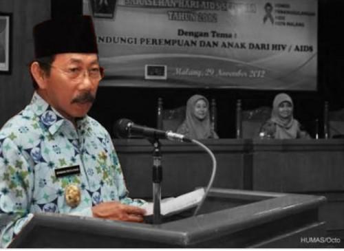 Wakil Wali Kota Malang periode 2003-2008, Bambang Priyo Utomo semasa hidup (Istimewa).