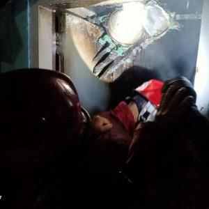 LPG Diduga Bocor, Rumah dan Satu Orang Terbakar Dini Hari