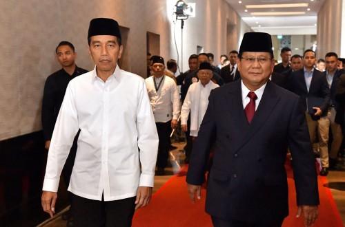 Jokowi dan Prabowo  (Sumber foto:  PinterPolitik)