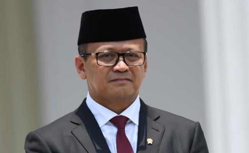 Menteri Kelautan dan Perikanan Edhy Prabowo (Sumber foto: Bisnis.com)