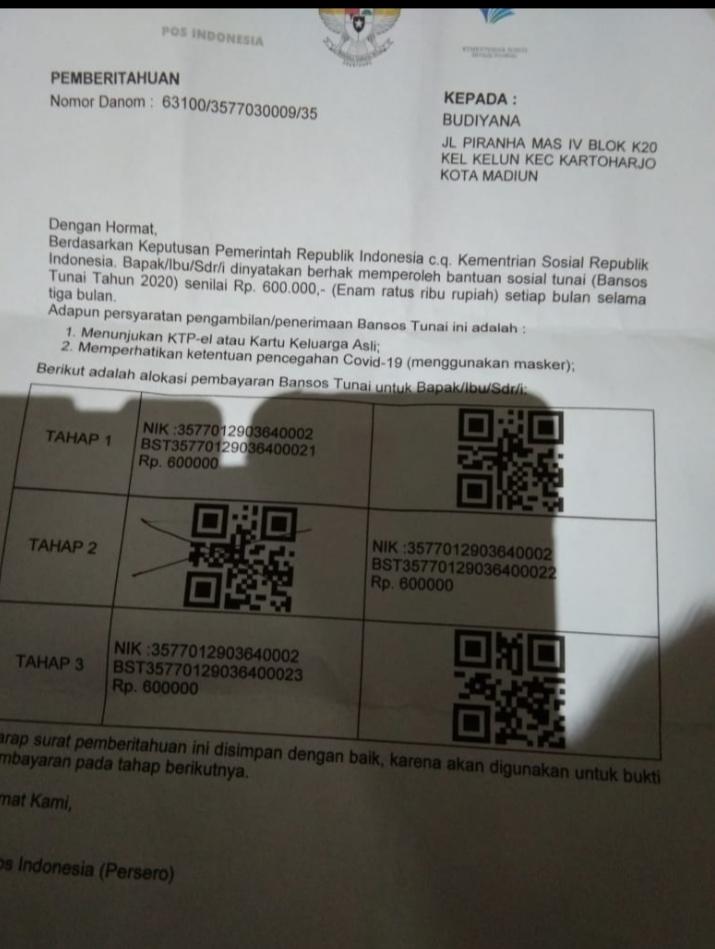 Info Terbaru Undangan Bansos Covid   Ideku Unik