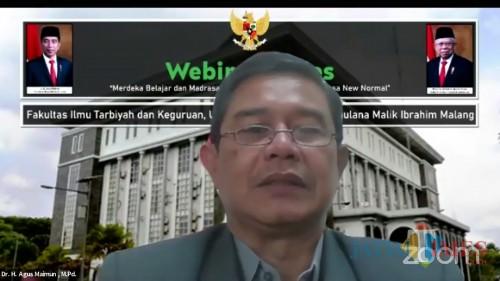 Dekan Fakultas Ilmu Tarbiyah dan Keguruan (FITK) UIN Malang, Dr H Agus Maimun MPd. (Foto: Ima/MalangTIMES)