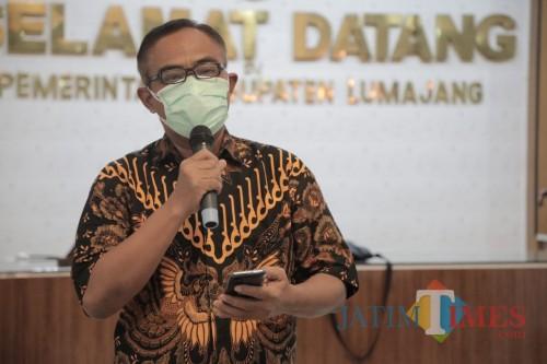 Kepala Dinas Kesehatan Lumajang dr. Bayu Wibowo Ignasius (Foto : Moch. R. Abdul Fatah / Jatm TIMES)