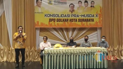 Musda DPD Golkar Surabaya