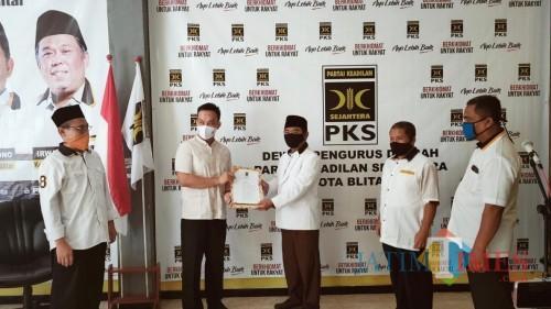 Pilkada Kota Blitar 2020, PKS Beri Rekomendasi Henry Pradipta Anwar