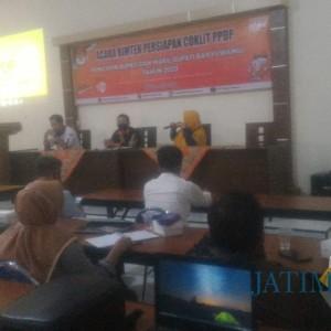 KPU Banyuwangi Gelar Bimtek Persiapan Coklit, Petugas Nanti Pakai APD Covid