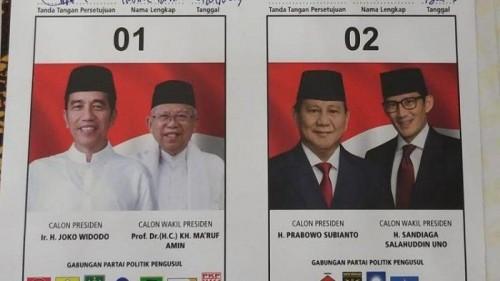Gugatan Soal Pilpres Dikabulkan MA, Ini Kata KPU Soal Nasib Hasil Suara Jokowi-Ma'ruf Amin
