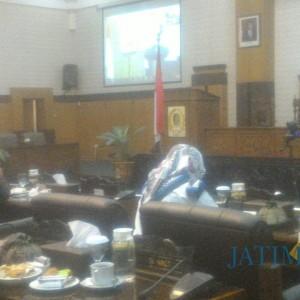 DPRD Banyuwangi Minta Bupati Serahkan Berkas Jawaban atas Pandangan Fraksi
