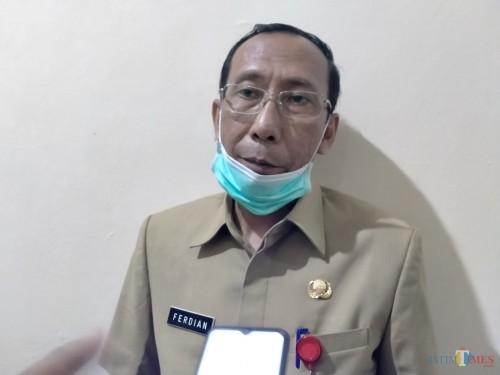 Humas Satgas Percepatan dan Penanganan Covid-19 Sumenep Ferdiansyah Tetrajaya (doc. Syaiful Ramadhani)