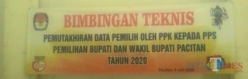 Bimtek Dulu, Petugas Coklit Pacitan Turun 15 Juli