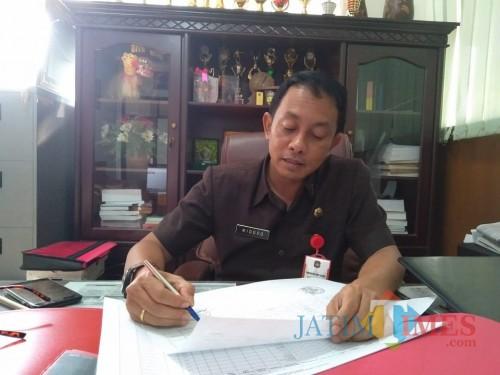 Kepala BPKAD Kota Blitar, Widodo Saptono Johanes,(Foto : Team BlitarTIMES)