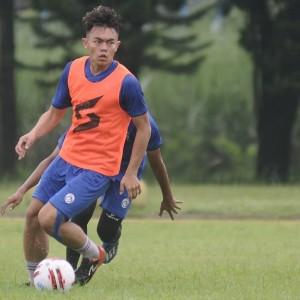 Pemain Muda Arema FC Vikrian Akbar Akui Kebugarannya Menurun saat Pandemi Covid