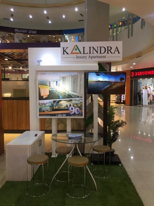 Stand The Kalindra di Mall Olympic Garden (MOG) yang sudah mulai dibuka. (Foto: istimewa)