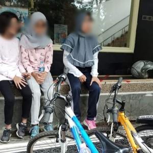 Asik Gowes di Simpang Ijen, Tas Remaja Putri Dijambret Pria Berkendaraan Motor Vega