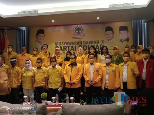 Terpilih di Usia Muda, Anak Guru SD Pimpin Golkar Surabaya