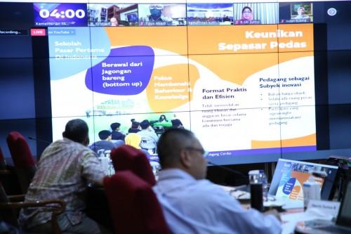 Pemaparan program Sepasar Pedas oleh Walikota Malang, Sutiaji (Menpandotgodotid)