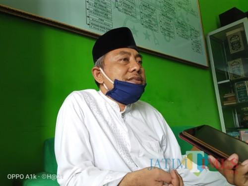 Rois Suriah PCNU Tulungagung, KH Muhson Hamdani (Joko Pramono for Jatim TIMES)